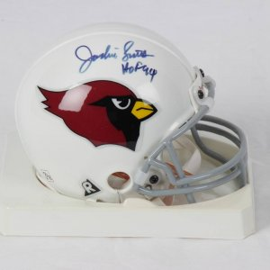 Jackie Smith and Conrad Dobler Arizona Cardinals Signed Mini Helmet