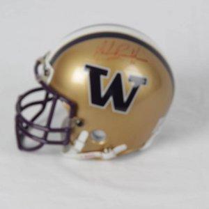 Mark Brunell Washington Huskies Signed Mini Helmet
