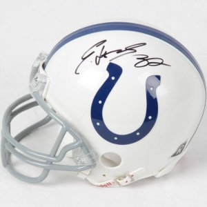 Edgerrin James Indianapolis Colts Signed Mini Helmet