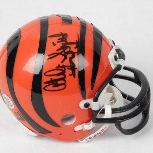 Akili Smith Cincinnati Bengals Signed Mini Helmet