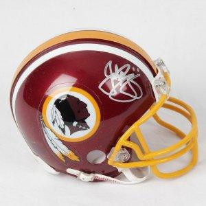 John Riggins Washington Redskins Signed Mini Helmet