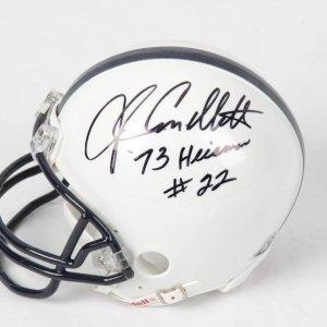 John Cappelletti Penn State Signed and Inscribed Mini Helmet