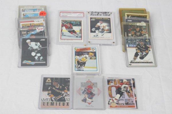Hockey Sports Card Lot 25+ Incl. Wayne Gretzky