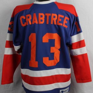 Crabtree Game-Worn / Used NNHA Hockey Jersey