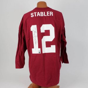 University of Alabama - Kenny Stabler Signed Home Jersey
