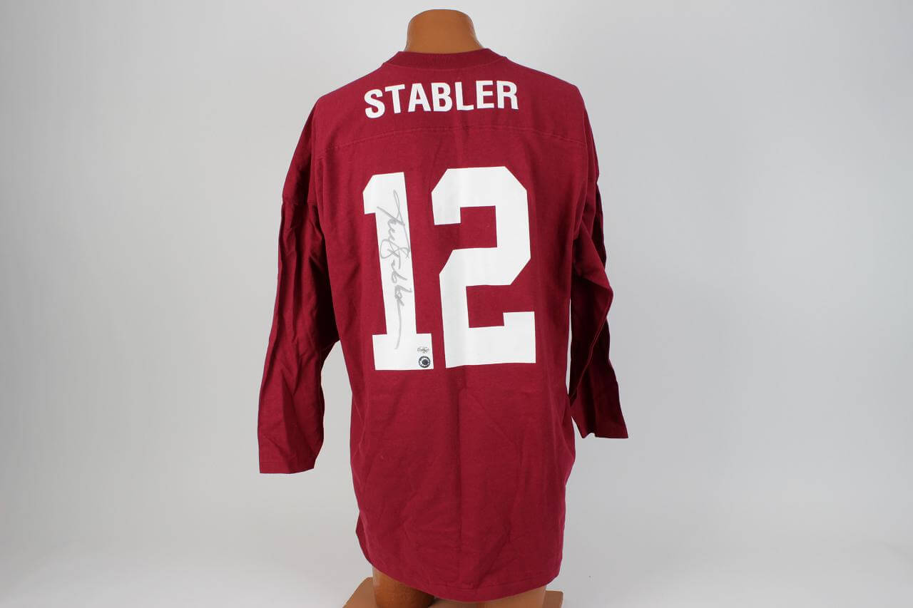 University of Alabama - Kenny Stabler Signed Home Jersey
