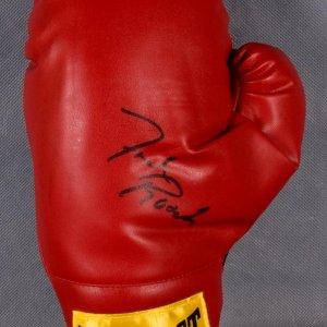 Freddie Roach Signed Boxing Glove. Everlast glove signed in black felt tip.