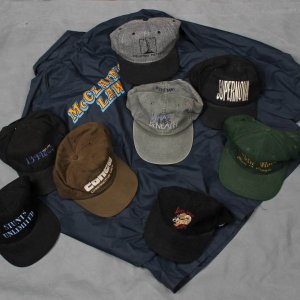 Film Crew Lot 8 Hats Supernova, Robin Hood etc. McClains Law Jacket L