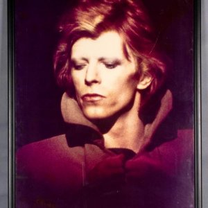 David Bowie Framed 24x36 Display- From Famed Pittsburgh Photographer