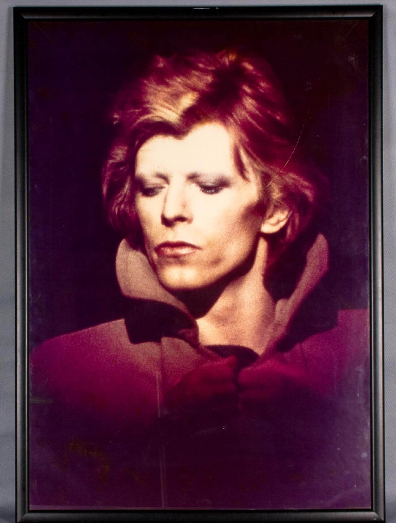 David Bowie Framed Photo Display