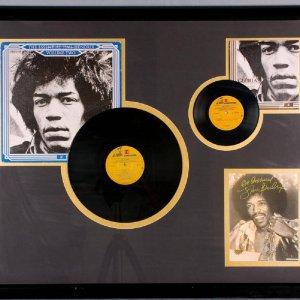 BRF Jimi Hendrix Album Display Facsimile Autograph 24x20