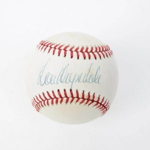 Brooklyn Los Angeles Dodgers - Don Drysdale Signed ONL (White ) Rawlings (Haiti) Baseball