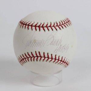 Cincinnati Reds- Johnny Bench Signed & Inscribed Baseball (Steiner COA)