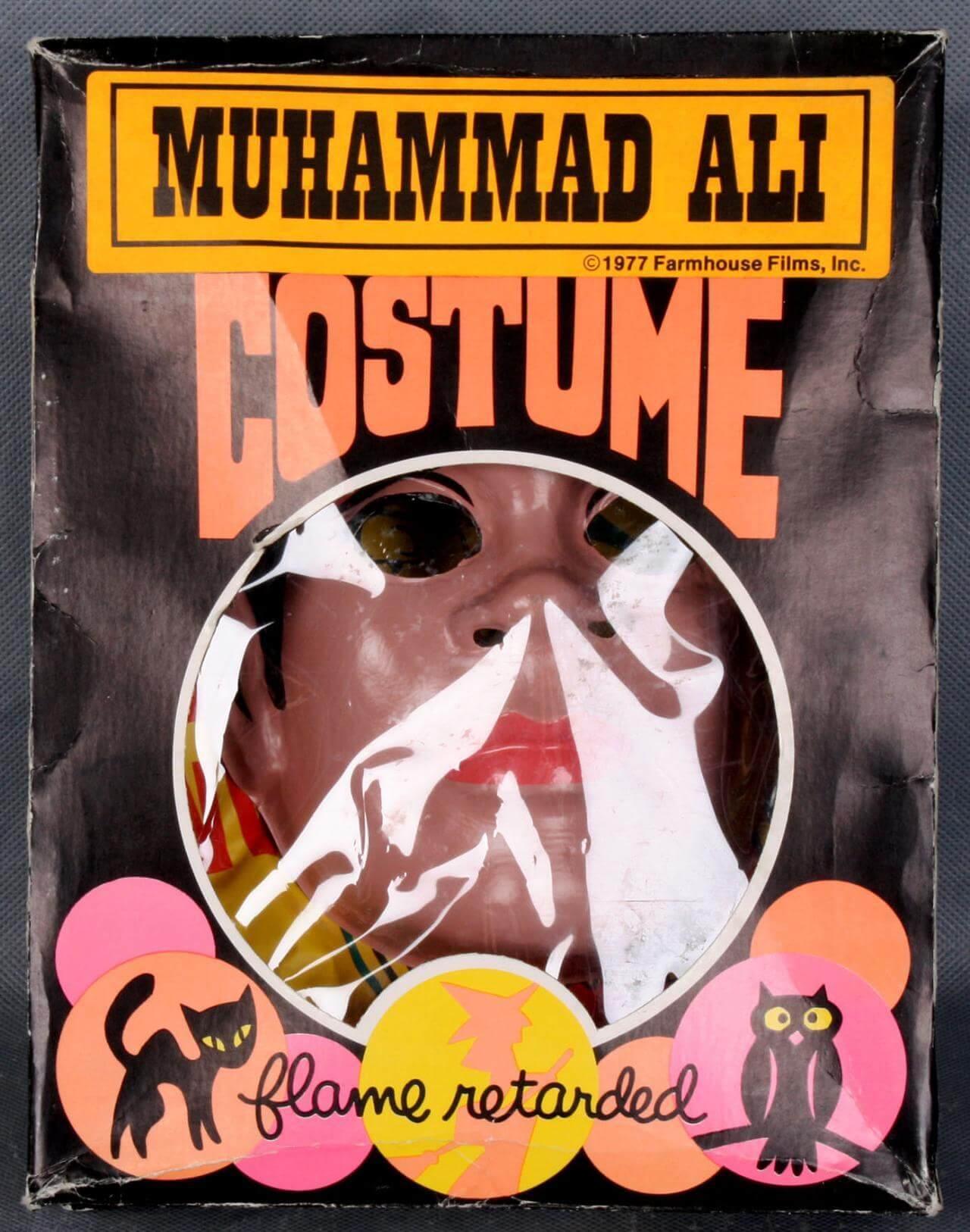 1977 Farm House Films, Inc. - Muhammad Ali Halloween Costume with Box