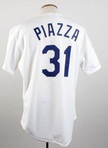 piazza game worn jersey