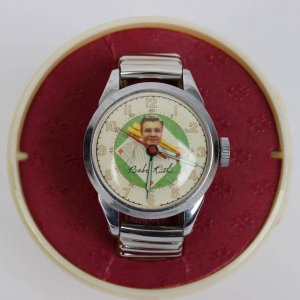 Babe Ruth Watch w/ Presentation Case, Instructions, Paper and Sportsmens Pledge Documentation