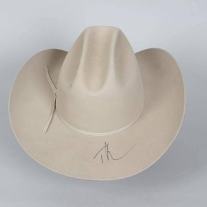 Country Singer - Tim McGraw Signed Resistol Ranch Tan Western Long Oval Cowboy Hat