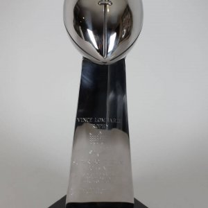 Super Bowl XLIX Patriots vs Seahawks Replica Vince Lombardi Trophy