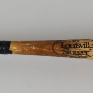 California Angeles Ron Tingley Game-Used 125 Louisville Slugger Bat