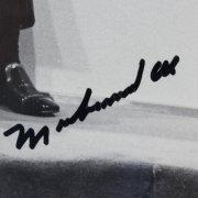 Muhammad Ali Signed 8x10 Wire Photo - JSA