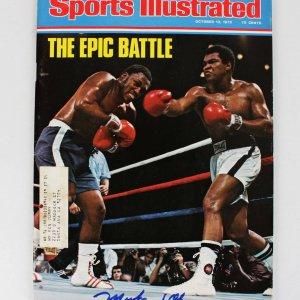 1975 Muhammad Ali Signed Sports Illustrated Magazine