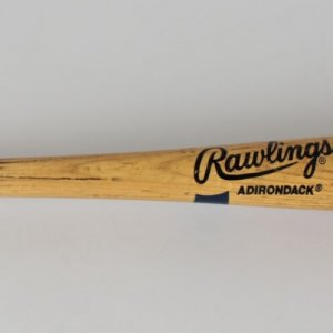 Los Angeles Dodgers Stan Javier Game-Used Adirondack Big Stick Bat