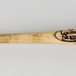 1996 Los Angeles Dodgers - Tom Prince Game-Used Baseball Bat - COA