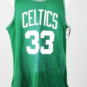 Boston Celtics Larry Bird Signed Jersey (UDA)