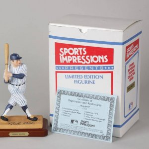 Babe Ruth Sports Impressions Superstar Figurine Collector Series 1345/5000