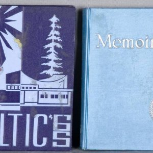 Collection of 1963 & '65 Yearbooks