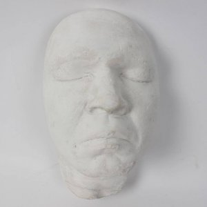 "Rare Muhammad Ali Facial Casting (Life Mask Mold Impression Taken For ""200 Famous Faces"" Sculpture by Richard Steele - w/ Photos From the Casting)"