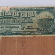 1947 Pre-E m bargo Fabrica De Tabacos National Habana, C u b a - Bankers Club of America C i g ars with Box 14 Cigars