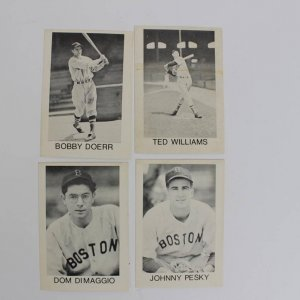 Ted Williams Boston Red Sox Locksmith Set (4) 1975 MT