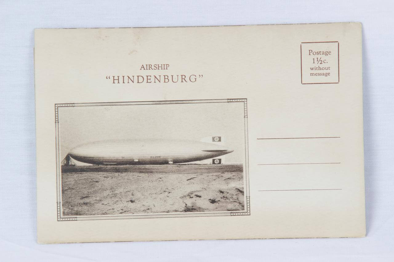 "Airship ""Hindenburg""  German Zeppelin Transport Co. Hindenburg Promo"