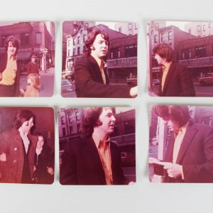 Vintage Sepia Photo Lot of 6 Featuring a Young Singer from The Beatles, Paul McCartney