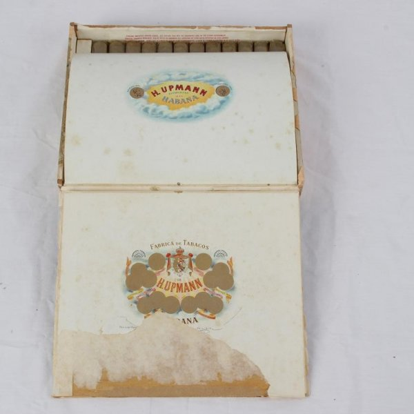 Pre-Embargo Pre -Castro De H.Upmann Establecida 1844 Habana In Orginal Box