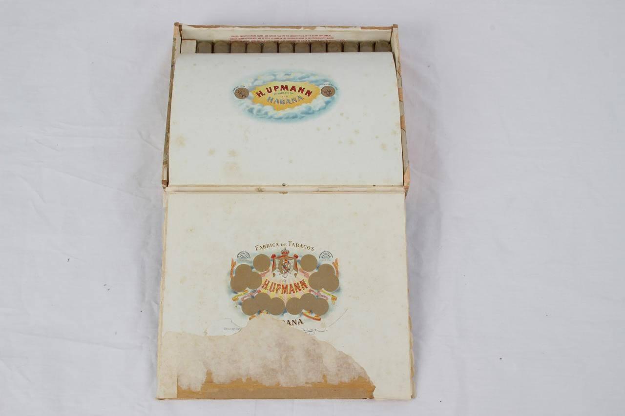 Pre-Embargo Pre -Castro De H.Upmann Establecida 1844 Habana In Orginal Box80107_01_lg