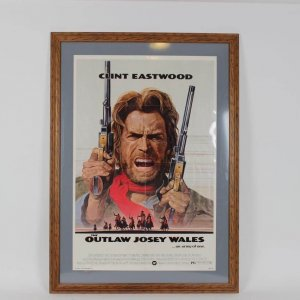 1976 Outlaw Josey Wales Original One Sheet Western Movie Poster