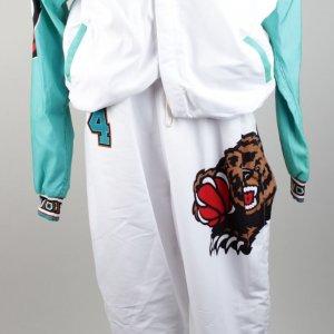 1995–1996 First Season Vancouver Grizzlies Byron Scott Game Warm Up Champion Jacket & Pants