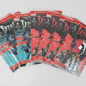 Collection of 7 Dracula Topps Comic Books