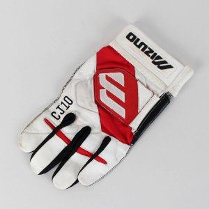 Braves Chipper Jones Game Used Mizuno Batting Glove