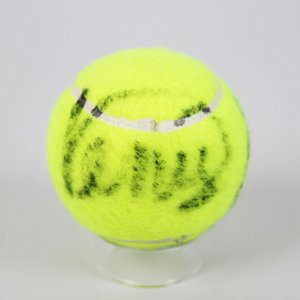 Tennis Stars - Serena and Venus Williams Signed Tennis Ball (Signed as Teens w/London Provenance)