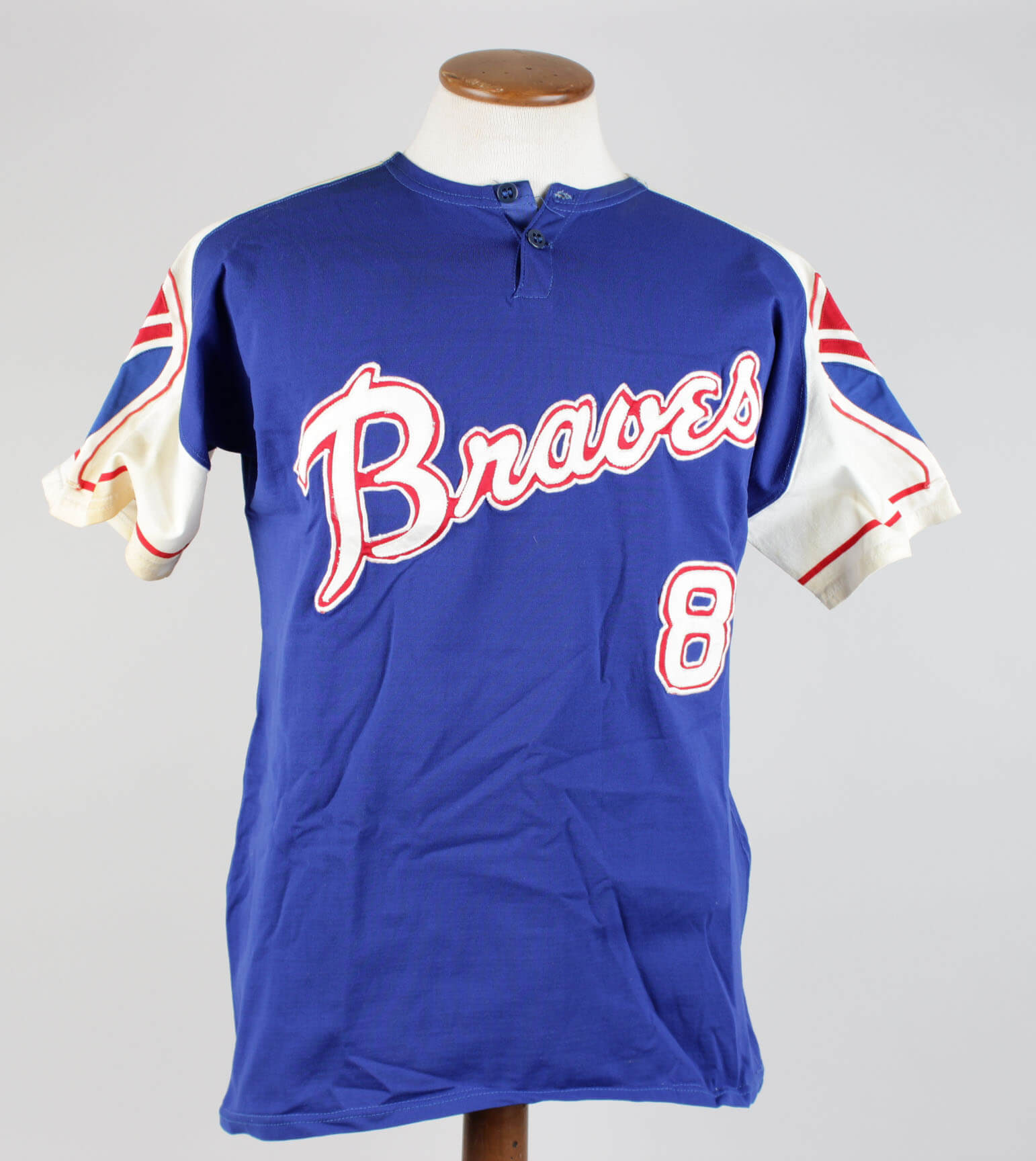 121331dfe ... where can i buy 1972 atlanta braves jim busby game worn home jersey  85ed5 e1769
