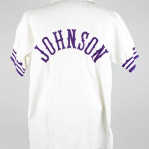 1988 Phoenix Suns- Kevin Johnson Sand-Knit Warm-Up Jacket & Pants- COA