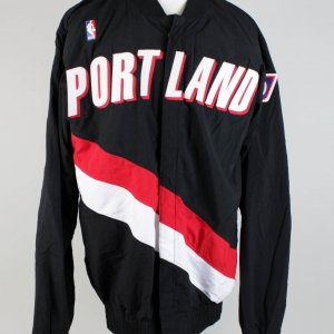 1996-97 Portland Trail Blazers - Isaiah J.R. Rider Game-Worn Warm Up Shooting Jacket