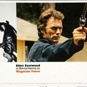 Magnum Force 14x11 Dirty Harry Movie Lobby Card Poster Clint Eastwood