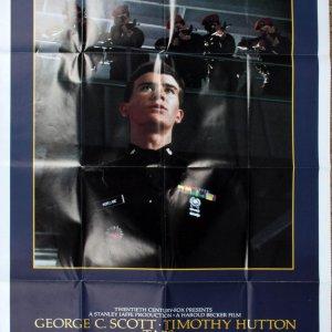 "George C Scott ""Taps"" Movie Poster 26x44 TAPS One-Sheet"