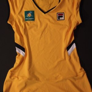 2011 BNP Paribas Open (Indian Wells) Game-Used Official Ball Girl Dress.