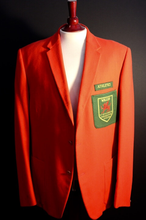 A Game-Used Wales Athletics Team Blazer From the 1966 British Empire & Commonwealth Games in Jamaica.