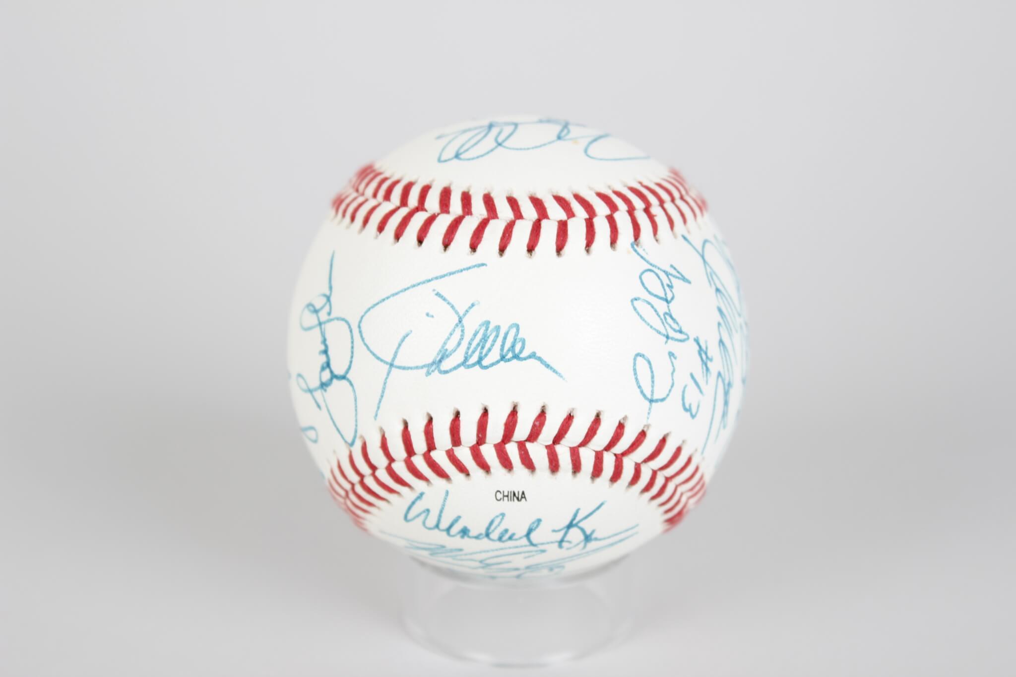 1999 Red Sox Team-Signed Baseball 21 Sigs. Varitek,Beck, Garciaparra etc. - JSA